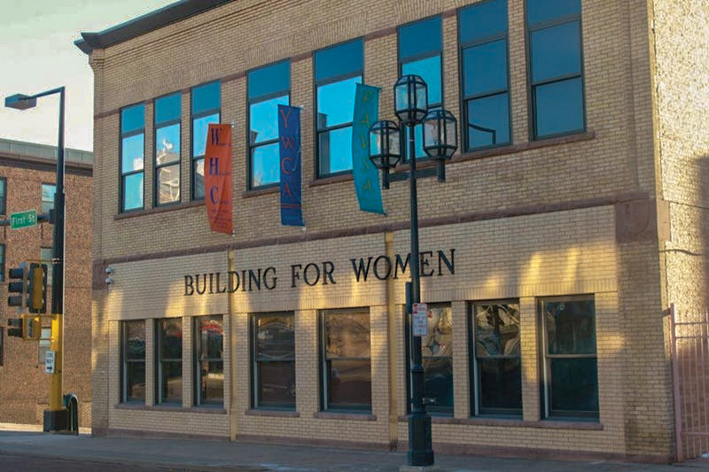 front exterior of building for women duluth